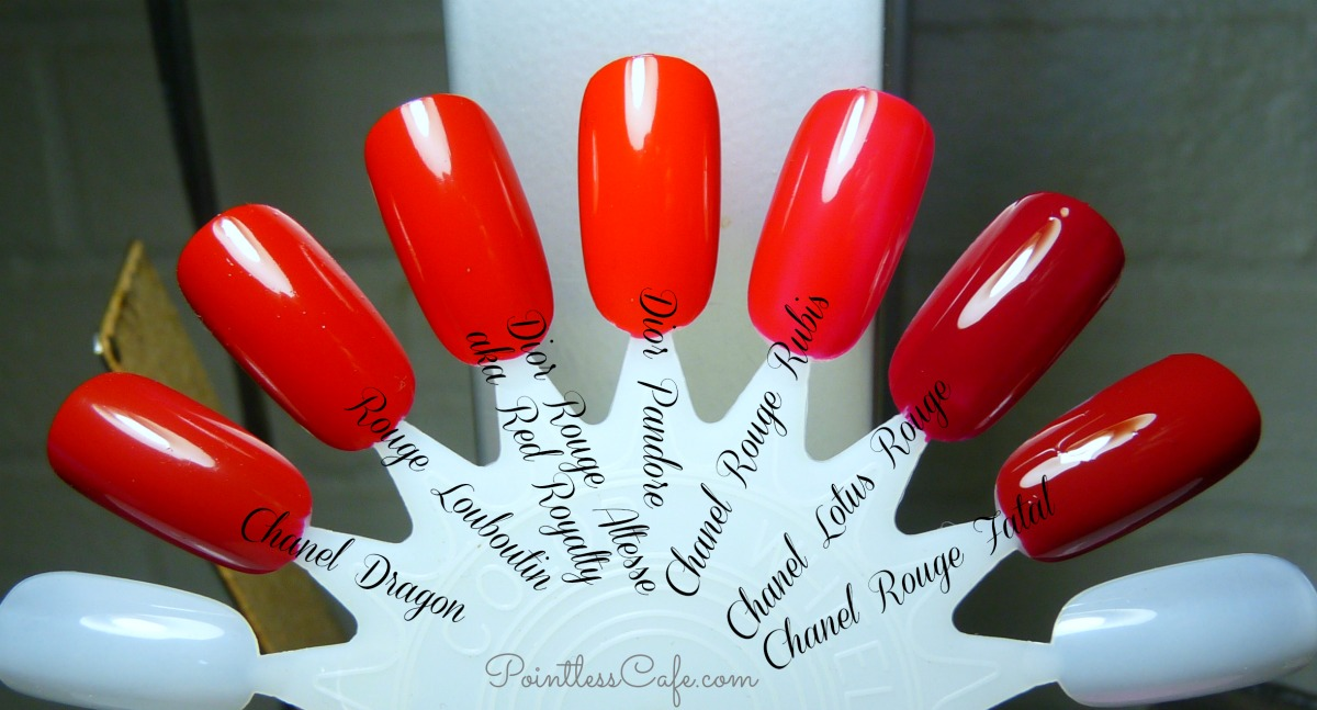 Christian Louboutin Nail Polish Rouge Louboutin Comparison