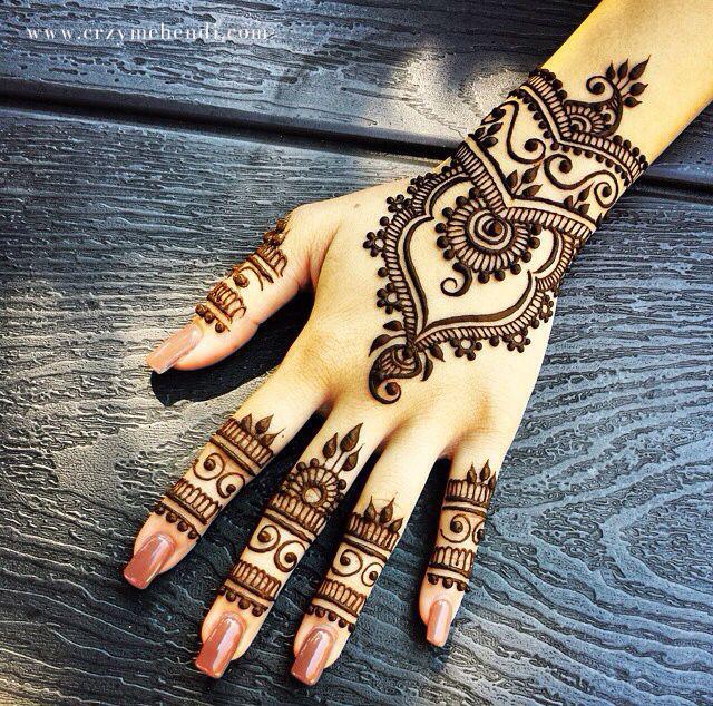 1000  ideas about Mehendi Arts on Pinterest | Mehndi, Henna and ...