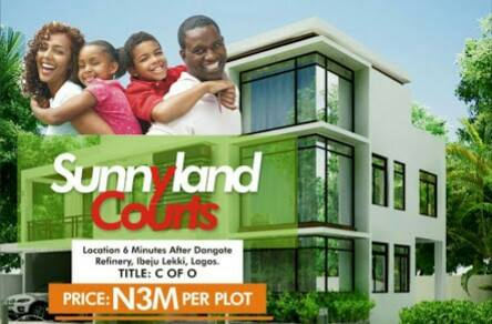 PLOTS OF LAND FOR SALE @ SUNNYLAND COURTS