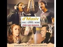 Kunci Lagu D'Masiv feat Ariel Noah, Momo Geisha, Giring Nidji - Esok Kan Bahagia