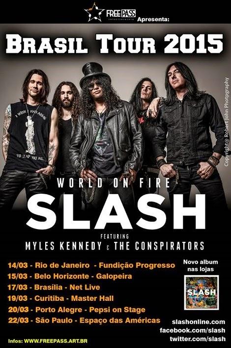 14 a 22-03-2015 - SLASH - Brasil Tour 2015