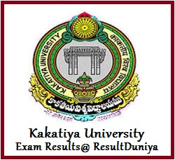 Kakatiya University SDLCE Degree Results 2015