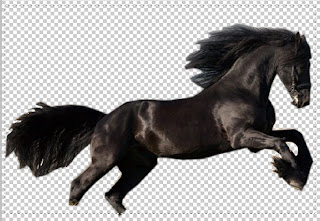 selectt Make A Fire Horse In Photoshop Cs4