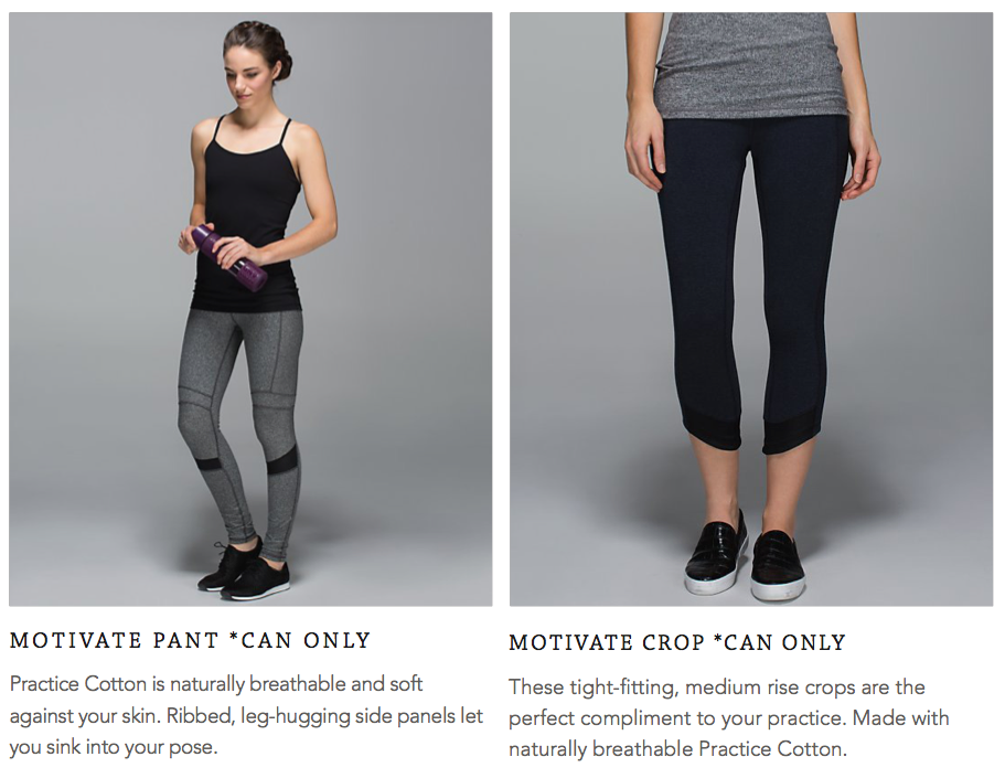 lululemon motivate pant