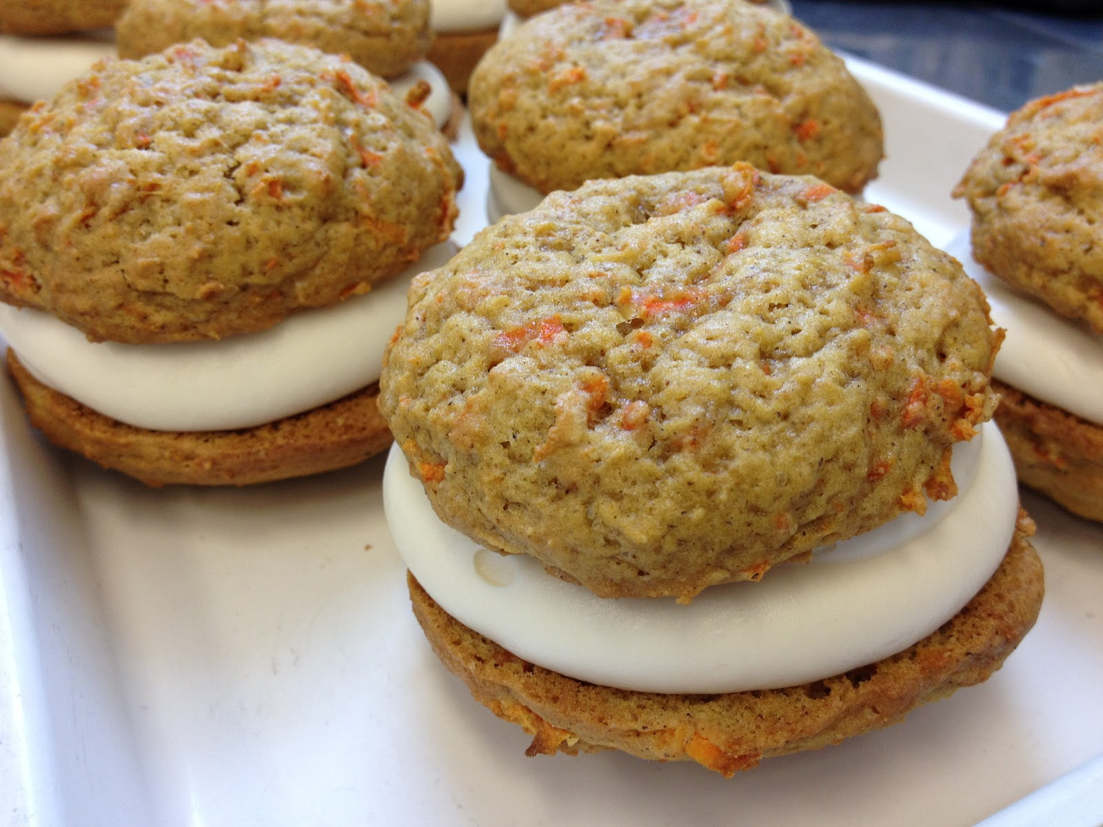 love, the porters: carrot cake whoopie pies!