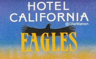 chord eagles hotel california