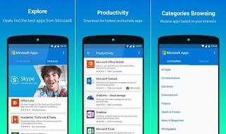 Microsoft Merilis Microsoft Apps, Toko Aplikasi Khusus Untuk Android