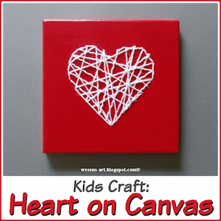 Heart on Canvas wesens-art.blogspot.com