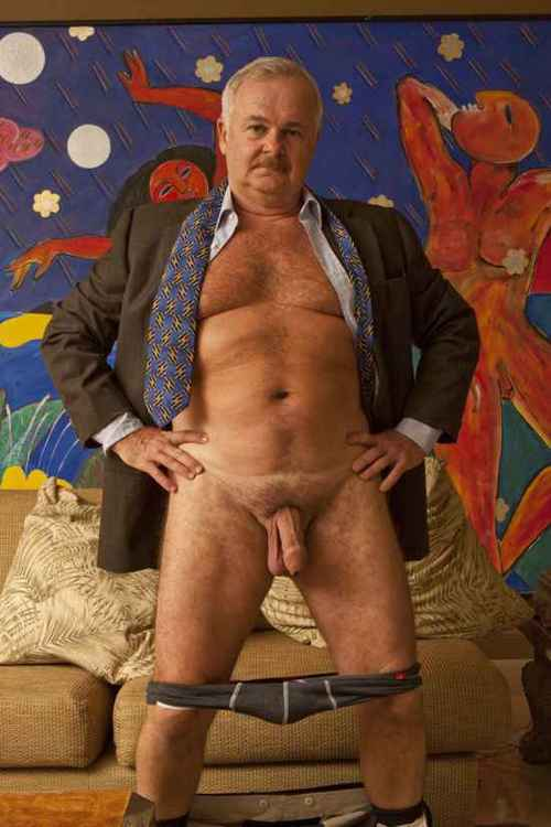 Old daddy – sexy mature gay stock photos