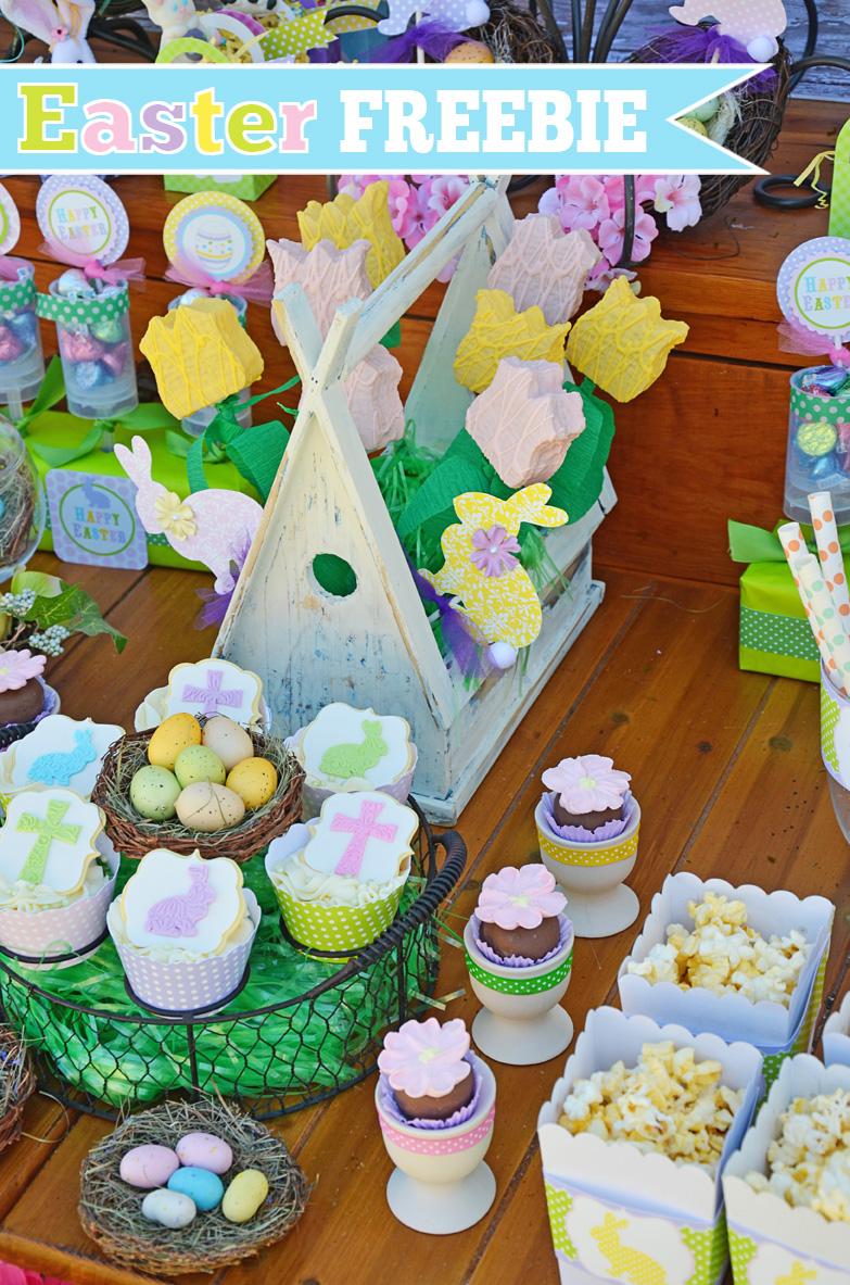 Amanda S Parties To Go Easter Free Printables Set