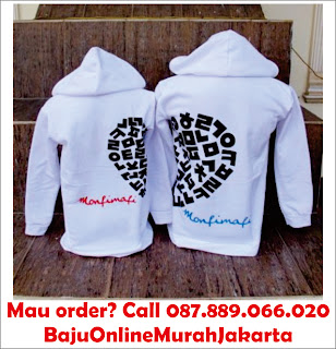 Jaket Couple Love Putih