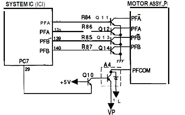motores de la impresora epson  motor de impresora epson lx