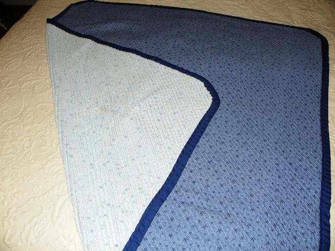cut chennille blanket
