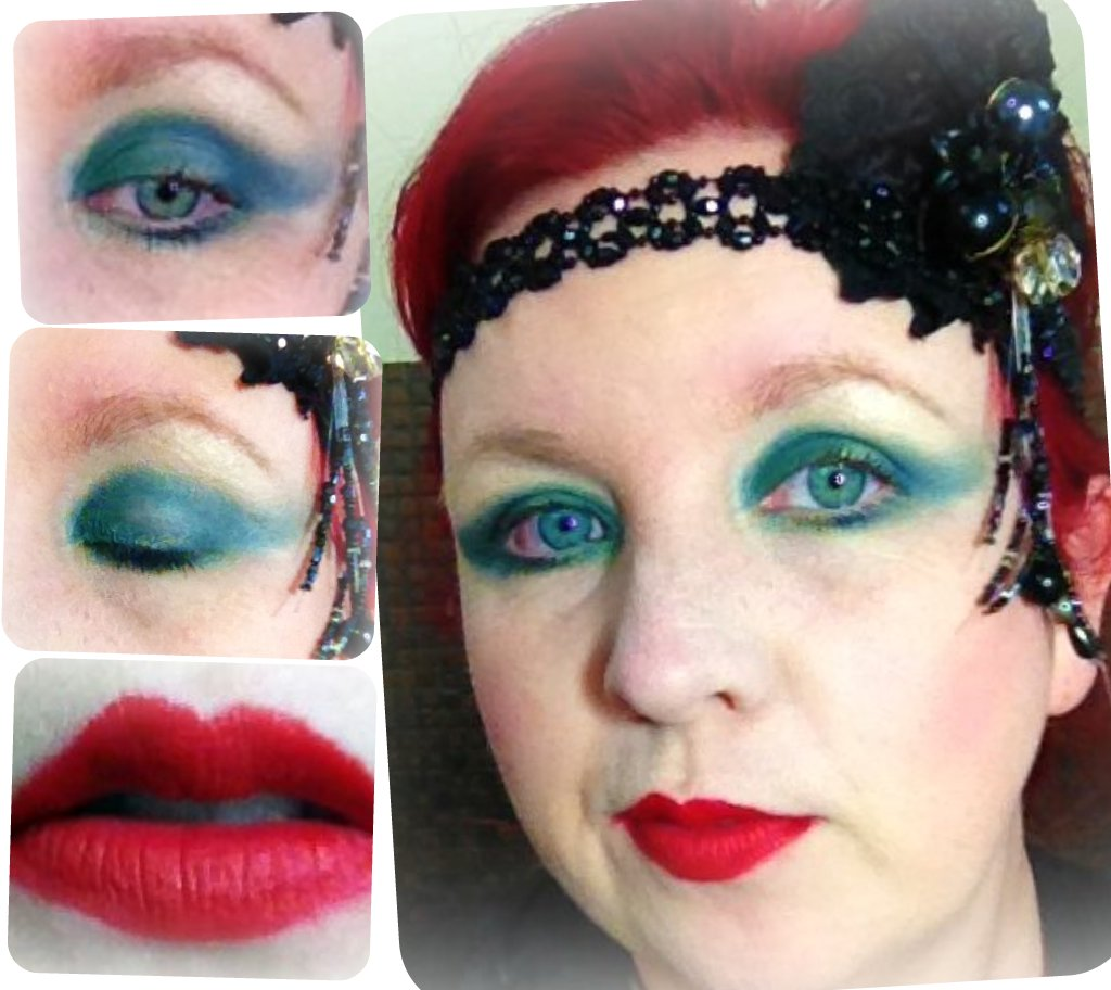 20s Inspired makeup look - Be a Flapper!