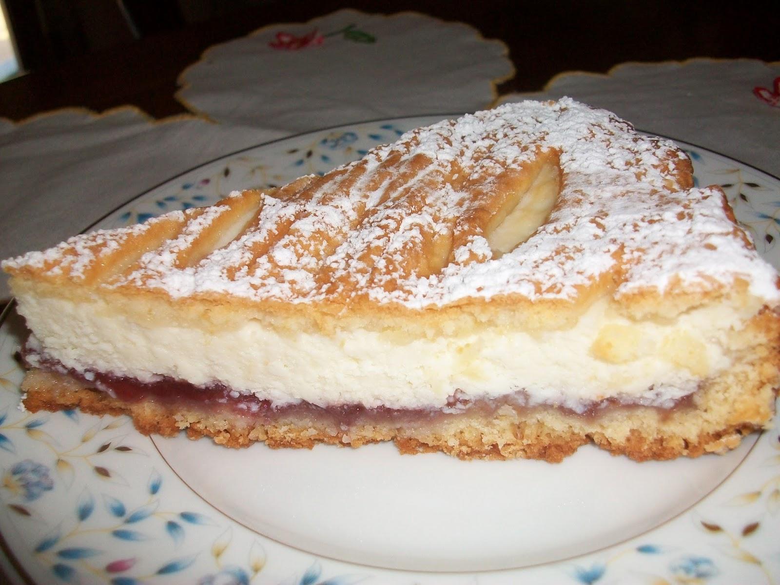 Il mondo di Rina: Pizza dolce di ricotta allo cherry