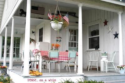 Fabulous Farmhouse Tour On The Back Porch