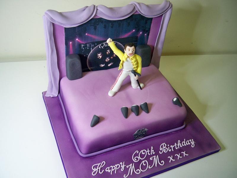 Freddie Mercury Birthday Cakes