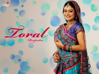Toral Rasputra aka Anandi in Balika Vadhu Cute Beauty Spicy Wallpapers