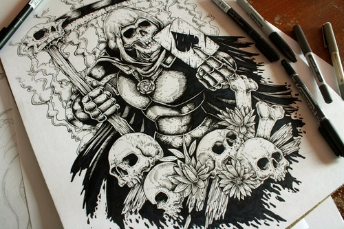 00-Erick-M-Gonzaga-E-G-The-Freak-Drawings-of-Characters-from-the-Underworld-among-us-www-designstack-co
