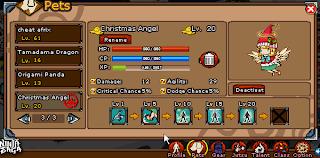 Christmas Angel Pet Ninja Saga New