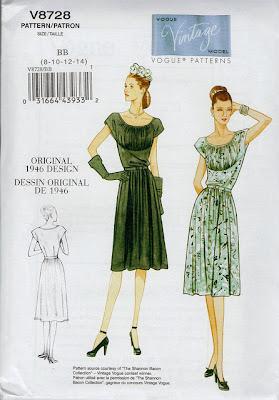 Vintage Vogue 8728