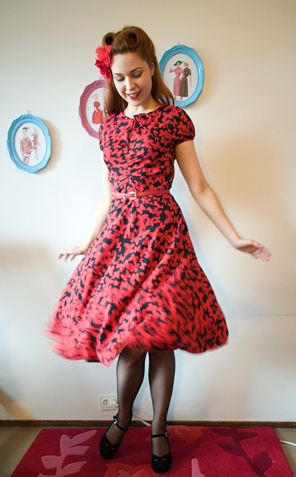 30s style dress by cherise