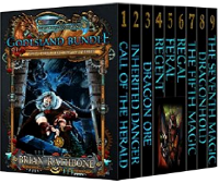 The World of Godsland by Brian Rathbone books 1-9