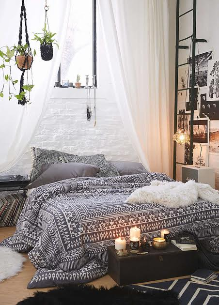 Tumblr inspired room decor variety vogue for Bedroom decor inspiration tumblr