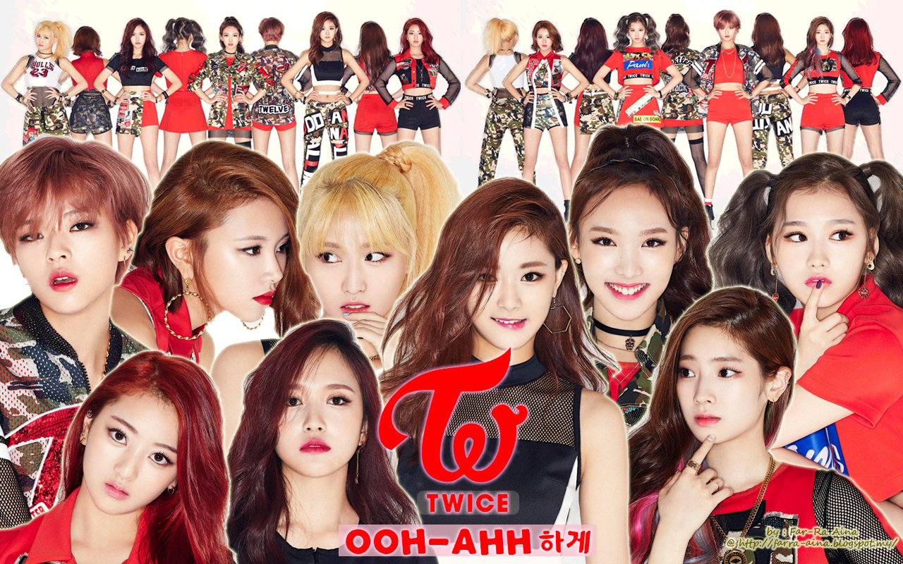 Twice Ooh Ahh Names Www Topsimages Com