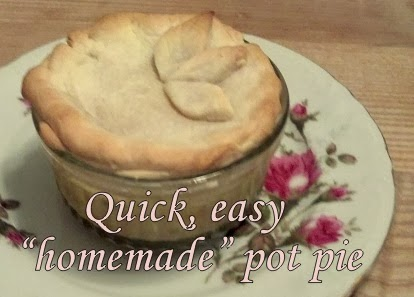 Sandy Toes Creations: Fastest, Easiest Chicken Pot Pie Ever!