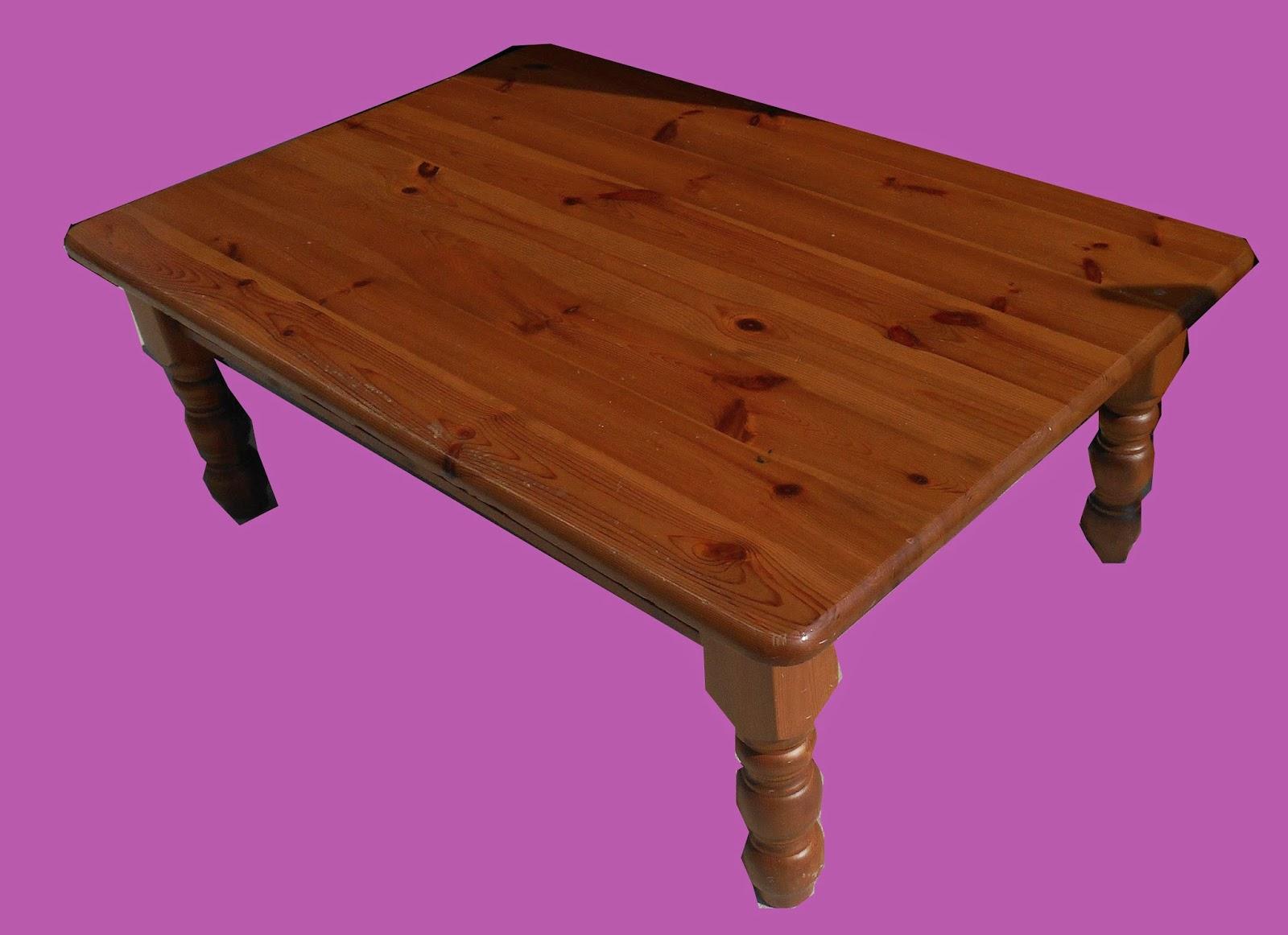 Uhuru Furniture Collectibles Large Pine Coffee Table 75 Sold