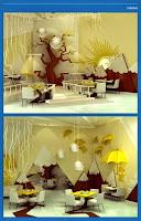 Lively Interior Design Venture For A Family Entertainment Center