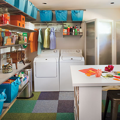 Nostalgia and Now: Laundry Rooms