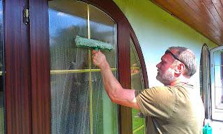 Mytí oken menších objektů