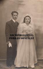 D. Antonio Porras Clemente y Dª. Teresa López Pérez