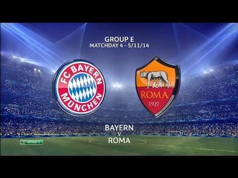 Highlights Munchen vs AS Roma 2-0