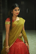 Midhuna latest sizzling pics in half saree-thumbnail-15