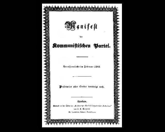 Manifesto Comunista-Fevereiro/1848
