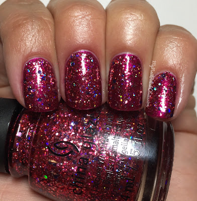 China Glaze Wishes; Ugly Sweater Party