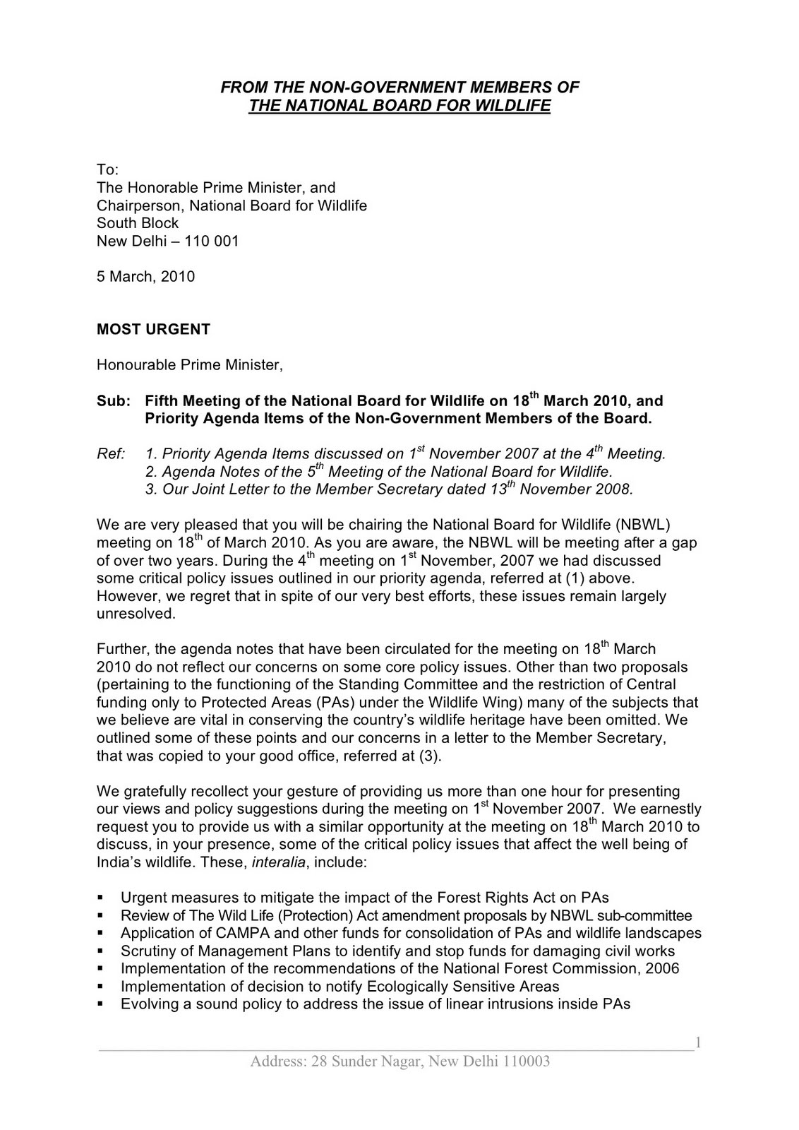 Nbwl matters letter to pm on 5th meeting of nbwl march 5 2010 letter to pm on 5th meeting of nbwl march 5 2010 thecheapjerseys Images