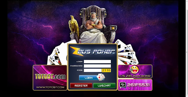 Judi Poker Online uang asli zeuspoker