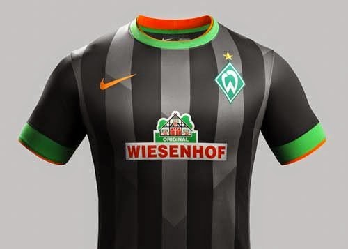 Werder Bremen Released home and away kit for 2014-15 Seasons
