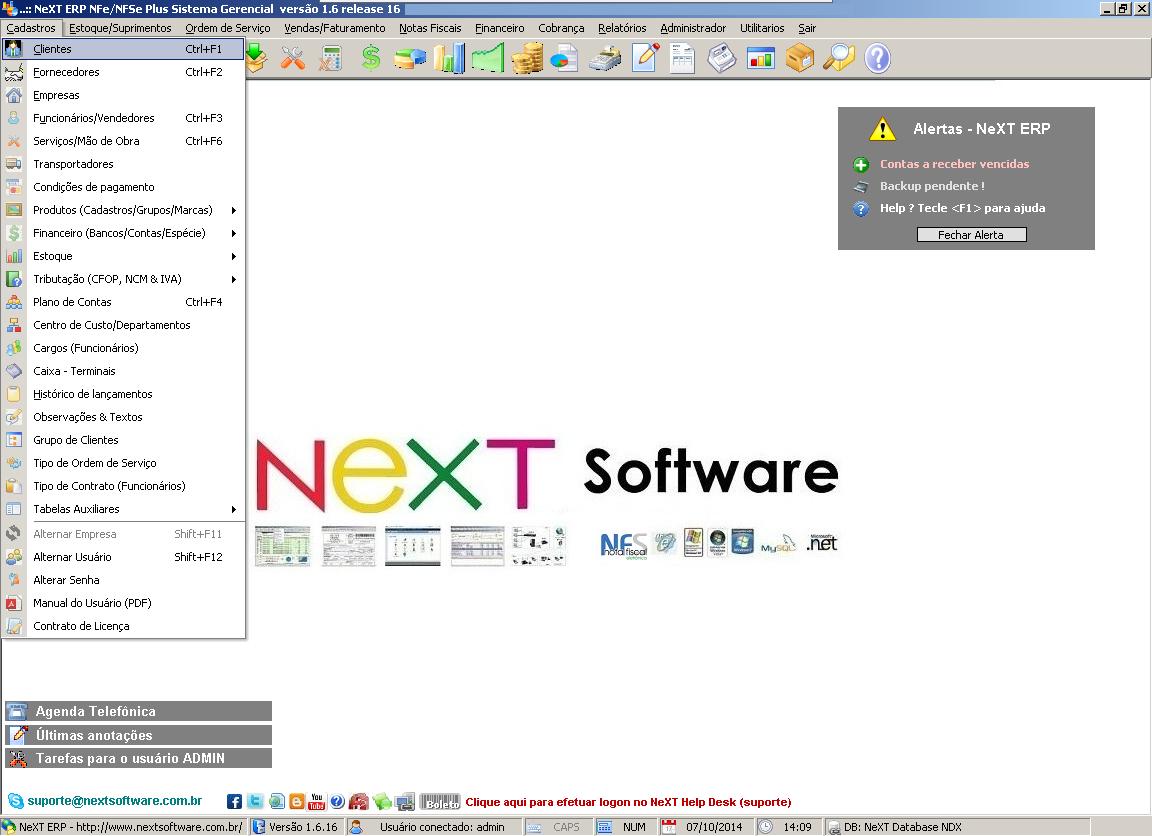 NeXT ERP 1.6.16
