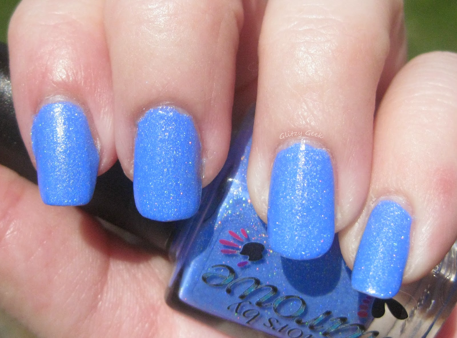 The Glitzy Geek Review And Nail Art Soccer Mom From Colors By