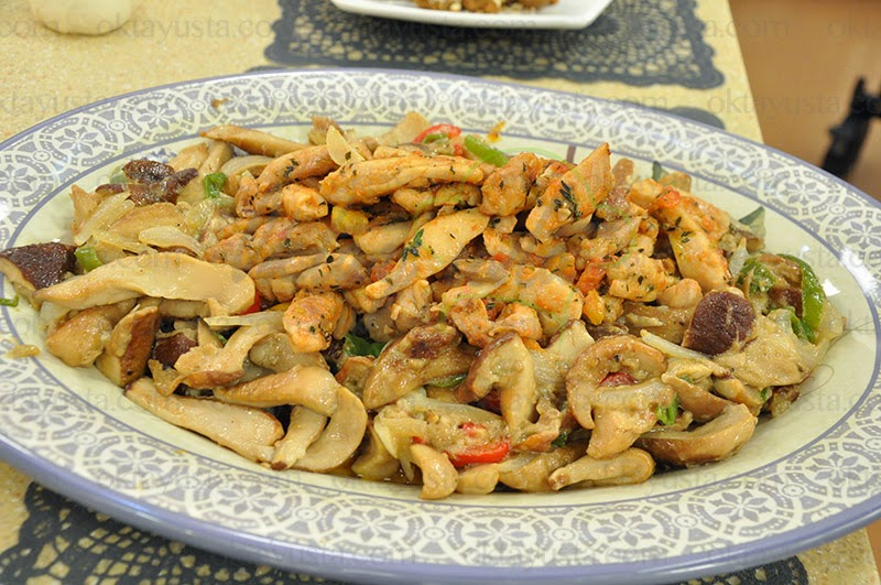 Mantarlı Sebzeli Tavuk Tarifi