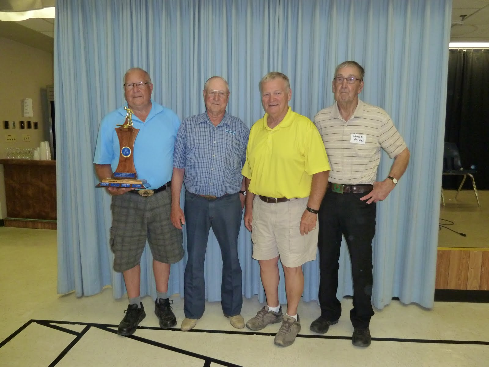 2016 Moose Jaw A Event Winners