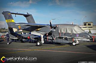 OV-10 Bronco FAC2213 Fuerza Aérea Colombiana