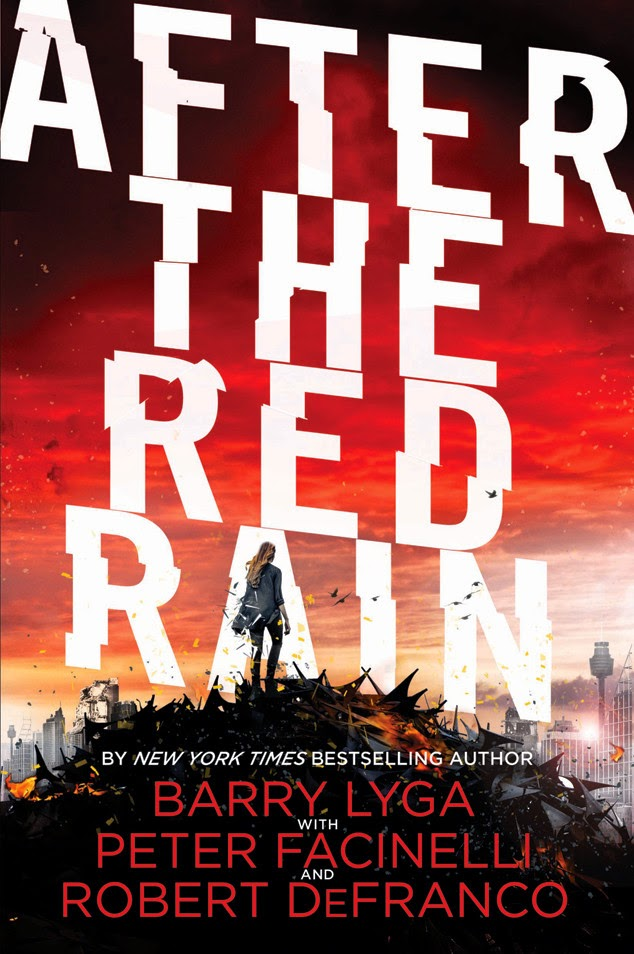 Book Cover After the Red Rain by Lyga, DeFranco, Facinelli