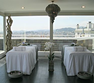 Herbst Manor penthouse retreat & terrace designed by Karen Villanueva for 2013 SF Decorator Showcase