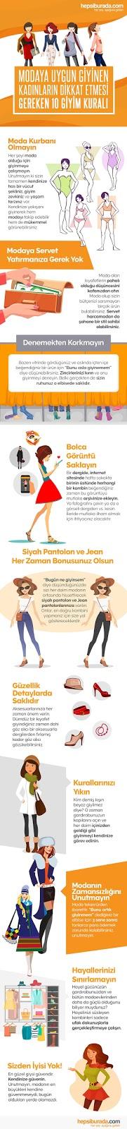 Kadınlar için Her Derde Deva 10 Giyim Kuralı